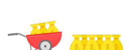 cart of gold