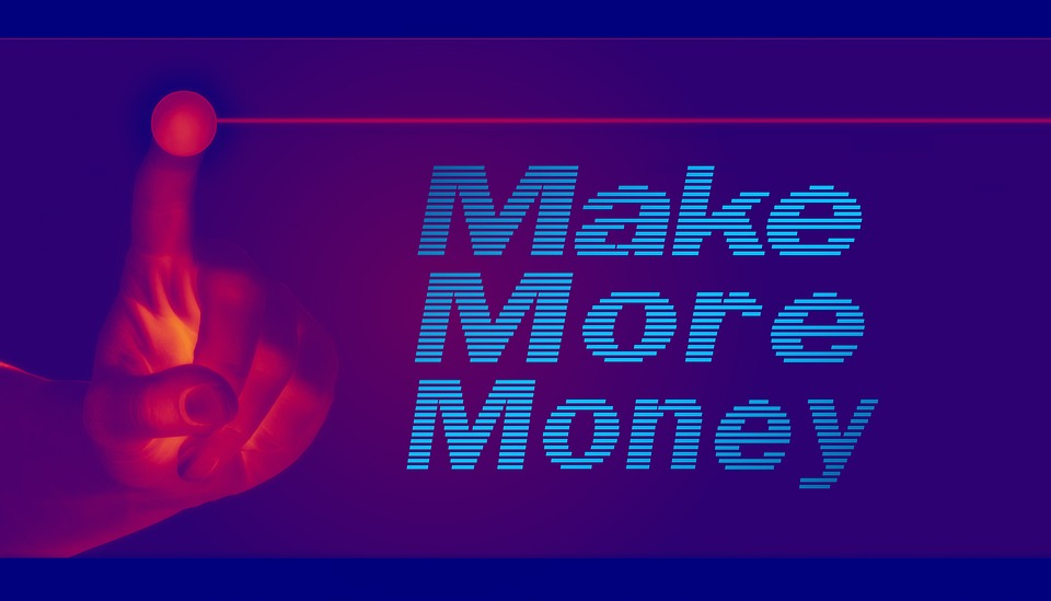 Make more money sign